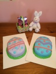 Easter egg cakes (Taylor Made Sweets and Treats)