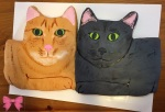 Cat portrait cake by Taylor Made Sweets and Treats