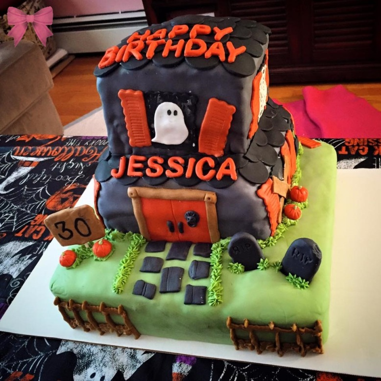 Haunted House Cake (Taylor Made Sweets and Treats)