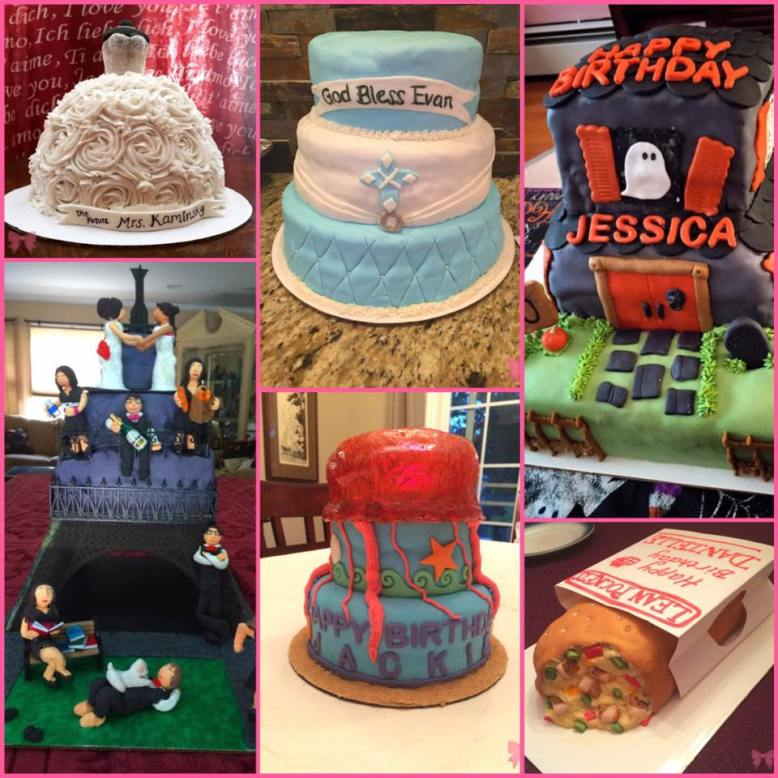 Taylor Made Sweets and Treats - 2015 Cake Collection