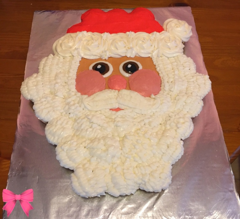 Pull-apart Santa cake by Taylor Made Sweets and Treats
